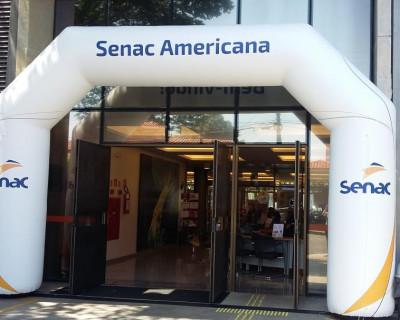Portal Inflável Senac