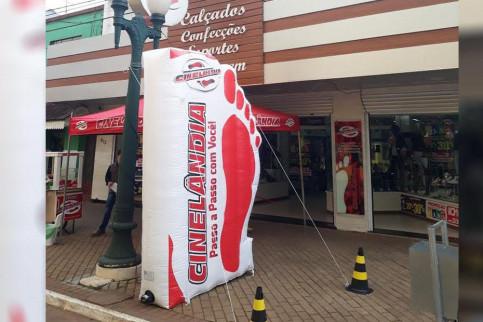 Infláveis: Peças importantes nas ações promocionais no varejo