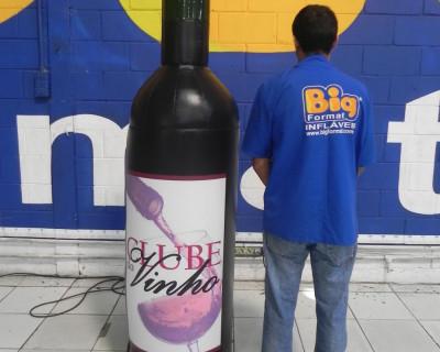 Réplica Garrafa - Clube do Vinho