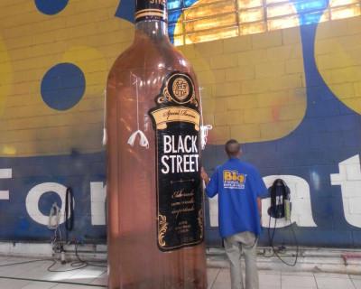 Réplica Garrafa - Black Street