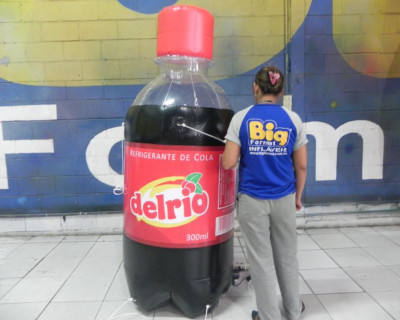Réplica Garrafa - Del Rio Cola
