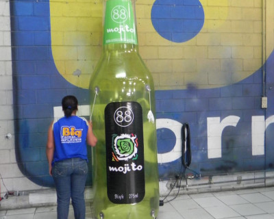 Réplica Garrafa - Mojito