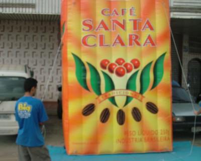 Réplica de Saco - Café Santa Clara