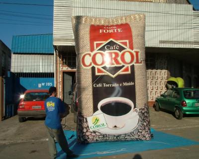 Réplica de Saco - Café Corol