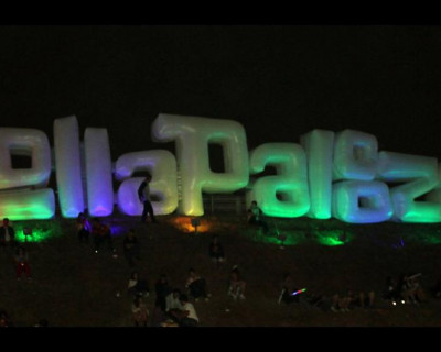 Letreiro Inflável Lollapalooza