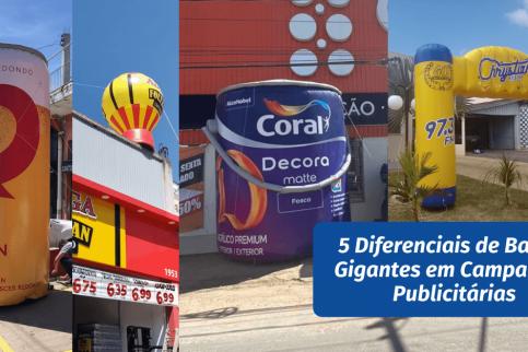 5 Diferenciais de Balões Gigantes em Campanhas Publicitárias